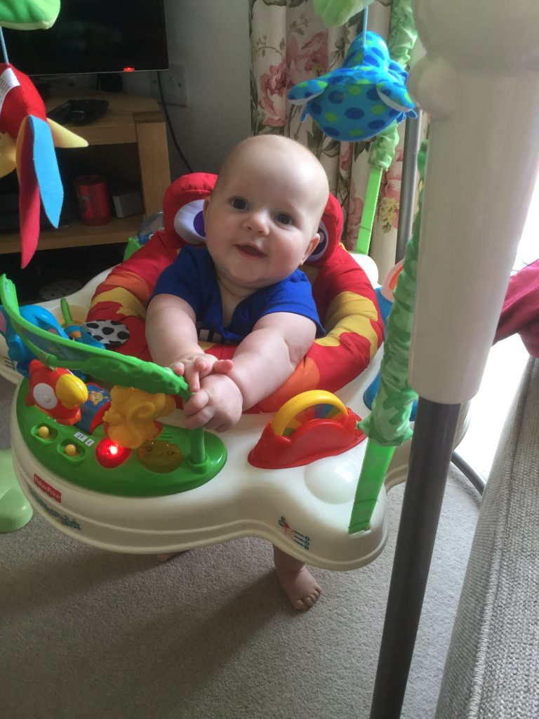 My little boy is already 5 months old!