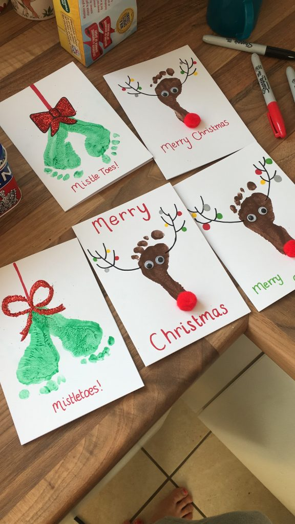Baby Print Christmas Cards - Mummy Miller