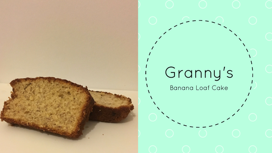 Granny's Banana Loaf Cake