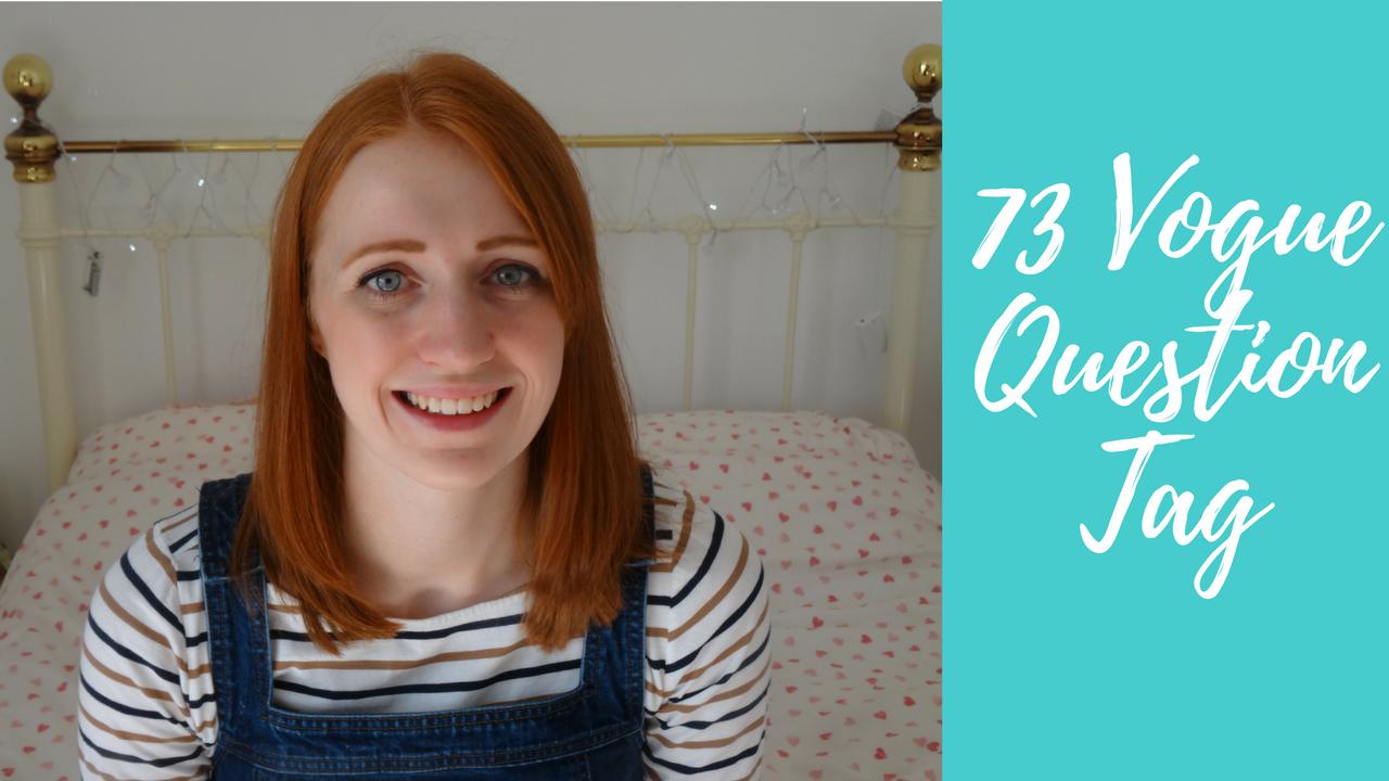 73 Vogue Questions Vlog