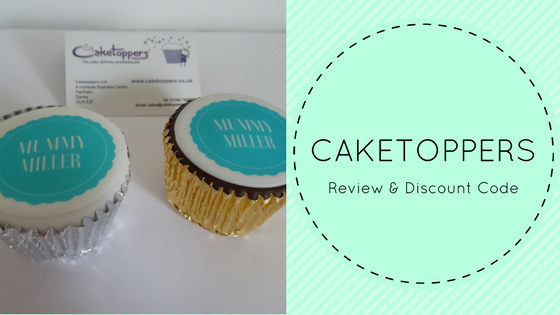 Caketoppers Personalised Cupcakes – Review & Discount Code