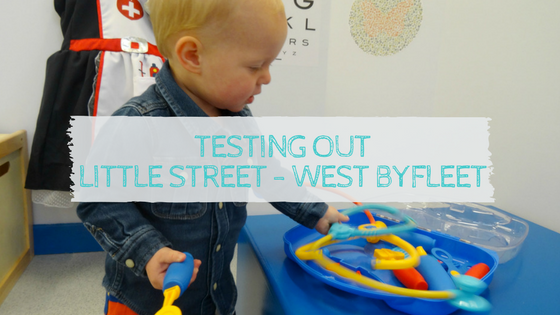 Testing out Little Street West Byfleet