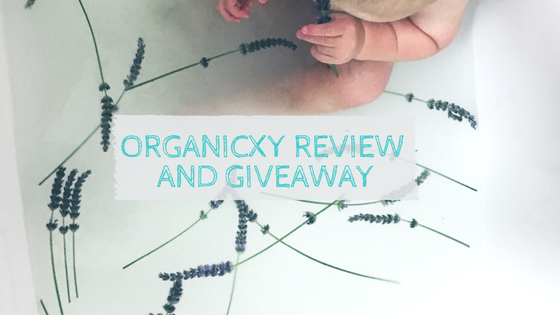 OrganicXY bath tea review & win a weeks supply!