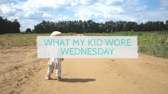 What My Kid Wore Wednesday