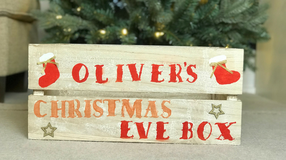 A Homemade Christmas Eve Box with Hobbycraft
