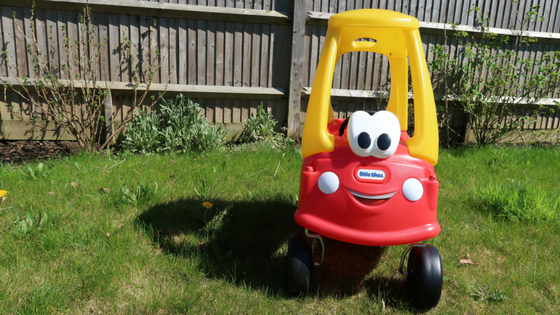 Getting outdoors with Little Tikes: Cozy Coupe Review