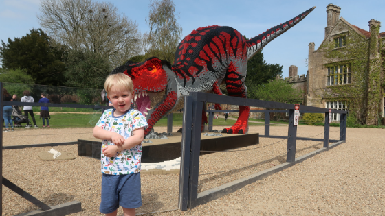 A fun day out at Marwell Zoo to see the LEGO® BRICKOSAURS